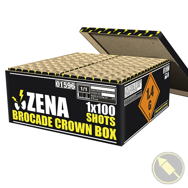 Zena Brocade Crown Box