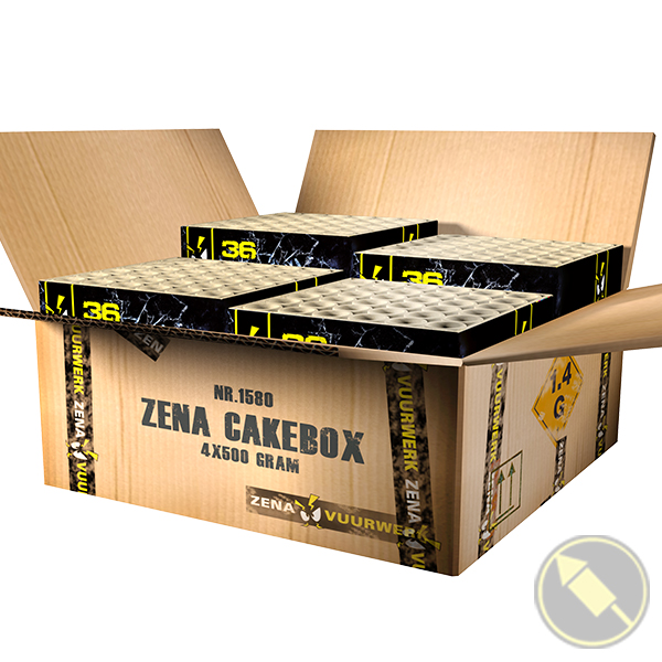 Zena Cakebox 01580