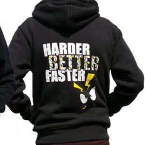 Zena Sweater HBF (Harder Better Faster) Achterkant