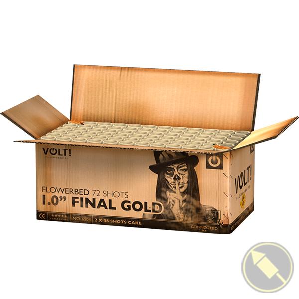 """1.0"""" Final gold"""