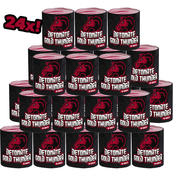 24x Detonate Gold Thunder