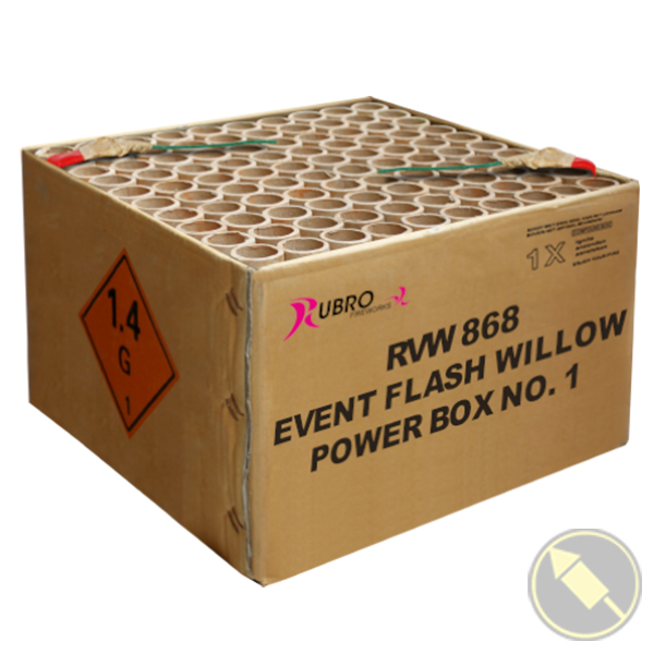 Event Flash Willow Power Box No.1 - 100's