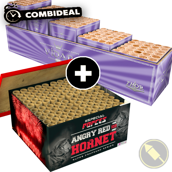 Combideal: Vidar & Angry Red Hornet