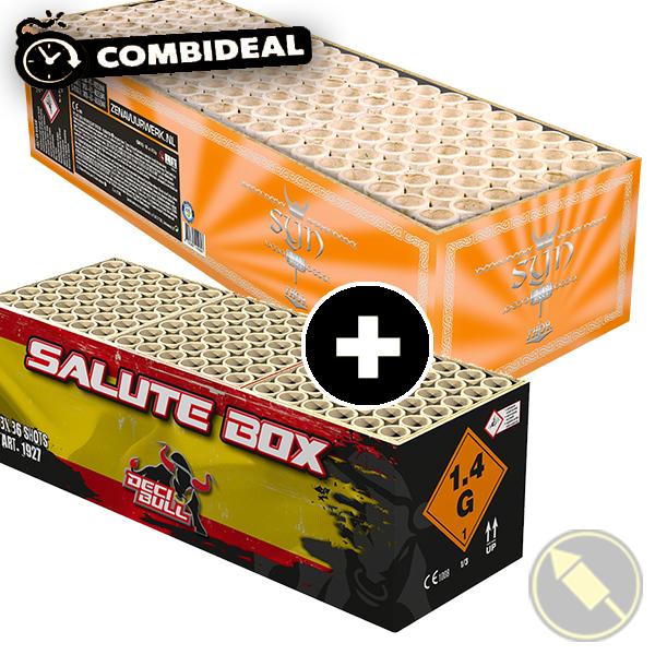 Combideal: DECIBULL Salute Box & Syn