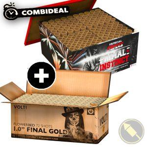 "1.0"" Final Gold & Primal Instinct"