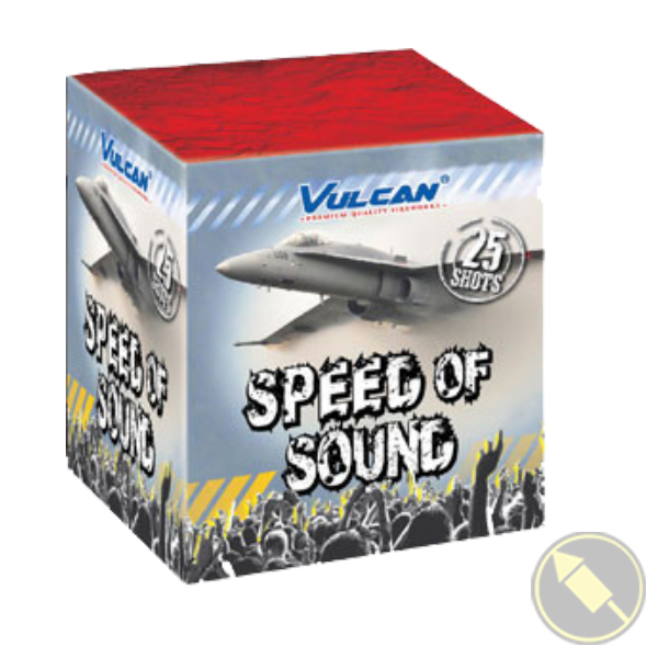 Speed Of Sound Vulcan Fireworks - 1624