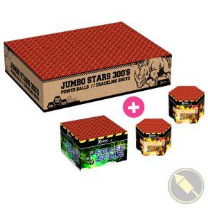 Jumbo Stars + Powerballs + Cracklingshots